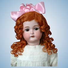 Ginger Kammer & Reinhardt / Simon and Halbig Antique Bisque Doll 30""