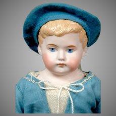 "Sweet 13.5"" Kling Pouty Character Boy in Blue Costume"