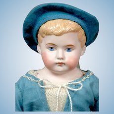 "Sweet 13.5"" Kling Pouty Character Boy in Blue Costume"