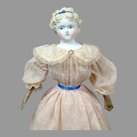 "Sweet 17"" Blond China Lady in Pink Costume"
