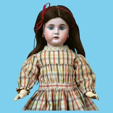 "19"" Bahr & Proschild 247 Character Child Antique Doll circa 1898 in All Antique Costume!"