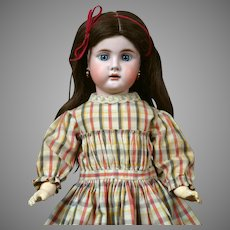 """19"""" Bahr & Proschild 247 Character Child Antique Doll circa 1898 in All Antique Costume!"""