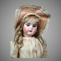 """Rare Bahr & Proschild 261 Dep Antique with Blue Paperweight Eyes 21"""""""