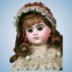 "13"" Etienne Denamur Closed-mouth French Bebe Circa 1889  E3D"