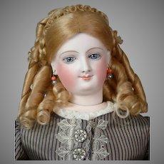 "Stupendous 20"" Smiling Bru Fashion Poupee by Bru Jeune & Cie circa 1872"