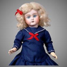 """Adorable 13"""" Bahr & Proschild 252 Girl in Sweet Sailor Dress"""