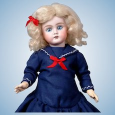 "Adorable 13"" Bahr & Proschild 252 Girl in Sweet Sailor Dress"