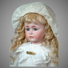 """Once in a Lifetime 17"""" Kammer & Reinhardt 117 'Mein Liebling'  Closed-Mouth All Original German Character Doll"""