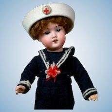 "Adorable 11"" Schoenau & Hoffmeister Sailor Boy"