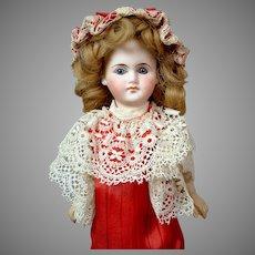 "Darling 11"" Belton-type Girl in Beautiful Red Dress"