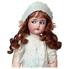 "Darling 23"" Kammer & Reinhardt/ Simon & Halbig Flirty Antique Doll in Sweet All Antique Costume!"