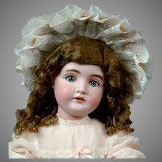 """Adorable 29"""" Kestner 164 in Sweet Pink Costume"""