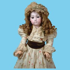 """Stunning 24"""" French Long-Face Jumeau """"Bebe Triste"""" by Carrier-Belleuse size 11"""