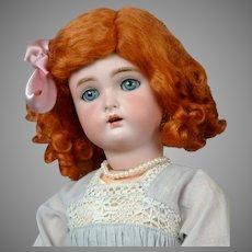 "Darling 18"" Kammer & Reinhardt/Simon & Halbig Antique Doll in Sweet Blue Dress"