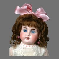 """18.5"""" Gorgeous & Rare Bahr & Proschild 248 German Antique Doll for the French Trade!"""