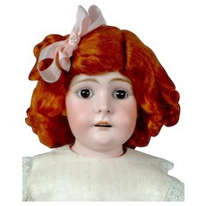 """Sweet 23.5"""" Kidskin Doll in Adorable Pale Pink Costume"""