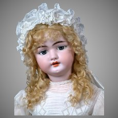 """*The Most Gorgeous* 31"""" Simon & Halbig 1079 DEP Antique Doll on OriginalEarly Chunky 6 Ball Body """"WoW!"""""""