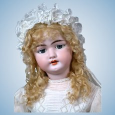 "*The Most Gorgeous* 31"" Simon & Halbig 1079 DEP Antique Doll on OriginalEarly Chunky 6 Ball Body ""WoW!"""