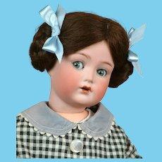 "18"" Cuno & Otto Dressel""MEIN LIEBLING"" Flirty All Antique Doll circa 1919-1924"