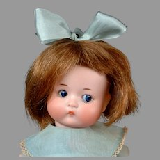 """Adorable 9.5"""" All-Original Vintage Armand Marseille """"Just Me"""" Googly Character Doll"""