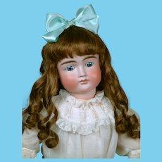 "Large & Chunky 27"" Pouty Kestner 103 Child Doll circa 1885 on Original Early Body"
