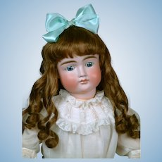 "Large & Chunky 27"" Pouty Kestner 103 Child Doll circa 1885 on Original Early Body"