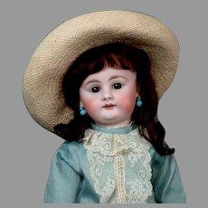 "Adorable 17"" Bahr & Proschild 300 in Blue Dress"