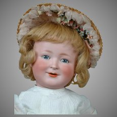 "Rare 17"" Princess Elizabeth Child Portrait by Schoenau & Hoffmeister Rare Character Doll--So Sweet!"