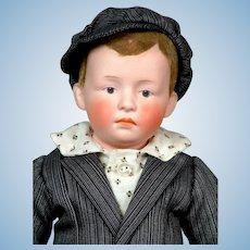 "15"" Gebruder Heubach 6688 Pouty Character Boy"