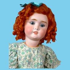 """Sweet 24"""" German """"Viola"""" Doll in Floral Dress"""