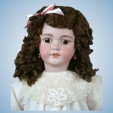"Huge Gorgeous 33"" Simon & Halbig 1249 ""Santa"" in Pretty Pale Pink"