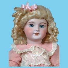 """Adorable 18"""" UNIS France 301 Bebe Antique Doll"""