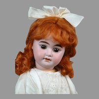 "*The Dearest*  17"" Armand Marseille 1894 Antique Bisque Doll in Lacy Dress"