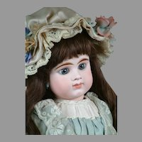 "24"" Gorgeous Etienne Denamur Closed-mouth French Bebe Circa 1889 E11D"