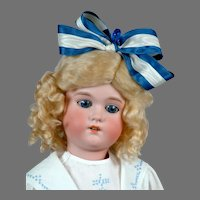"""Adorable 23.5"""" CM Bergmann in Blue and White"""
