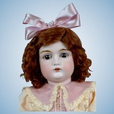 "Adorable 20"" Letter Kestner in Sweet Pink Frock"