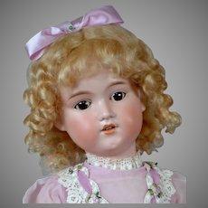 """Adorable 24"""" George Borgfeldt in Pretty Vintage Costume"""