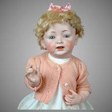 "Huge Lifesize 24"" ""Sammy"" Baby Character 211 Doll by Kestner"