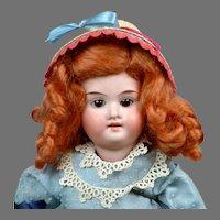 "Darling 10"" Armand Marseille 390 in Sweet Blue Vintage Dress"