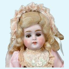 "Darling 8"" All Bisque Kestner 150 in Pretty Pink Costume"