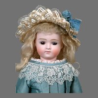 """Superb 16.5"""" Closed Mouth Kestner X with Swivel Head and Kidskin Lady Body"""