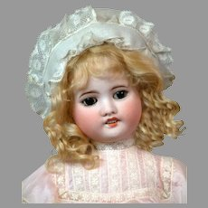 "Sweet 17"" SFBJ 60 in Frilly Pink Silk Dress"
