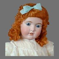 """Sweet 31.5"""" Kestner 171 in Embroidered Dress"""