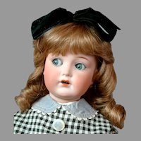 "18"" Cuno & Otto Dressel""MEIN LIEBLING"" Flirty All Antique Doll circa 1919-1924"