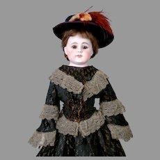 "19"" Lovely Bahr & Proschild 309 Kidskin Shoulderhead Lady"