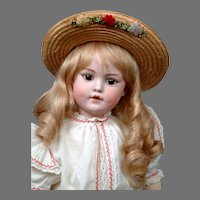 "18"" Rare Simon & Halbig 1279 Character Child circa 1912 So Cute"
