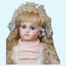 "20"" French 'Bebe Incassable' By Emile-Louis Jumeau Known As Deluxe Portrait Model c. 1879"