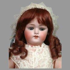"""Sweet 20.5"""" Kestner 168 in Lacy Pink Dress"""