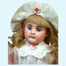 "Adorable 14"" Bahr & Proschild 204 Dressed as a Nurse"