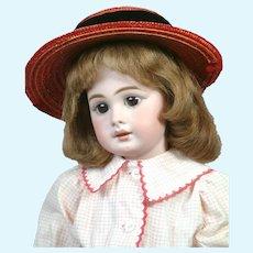 "Adorable 20.5"" Simon & Halbig 939 in Vintage Dress"